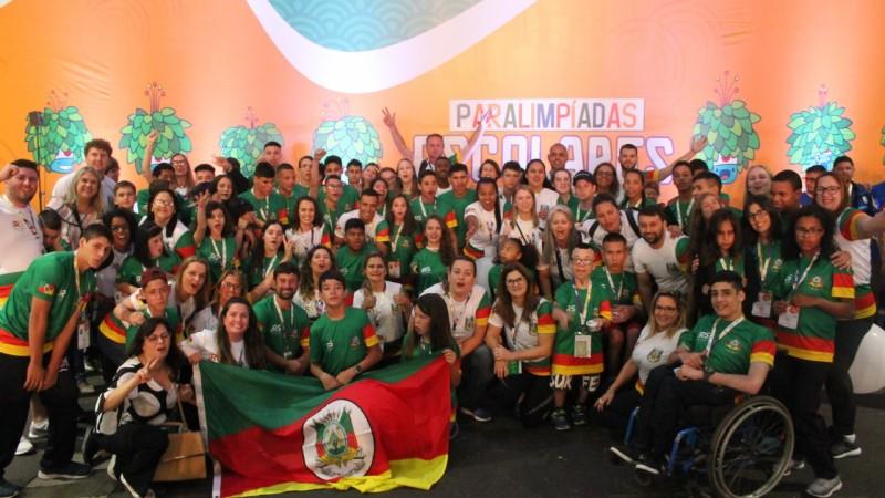 João Derly acompanha atletas e delegação gaúcha nas Paralimpíadas 2019